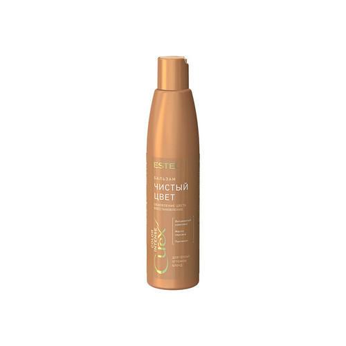 Estel Бальзам обновление цвета для волос теплых оттенков блонд, 250 мл (Estel, Curex Color Intense)
