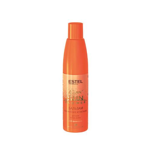Estel Бальзам для волос - увлажнение и питание с UV-фильтром Curex Sun Flower, 250 мл (Estel, Curex Sun Flower) фото