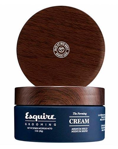 Esquire Крем для укладки волос средняя степень фиксации, средний глянец, 85 г (Esquire, Стайлинг) esquire помада для волос легкая степень фиксации esquire 85г