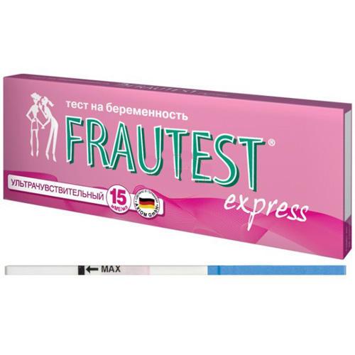 Тест для определения беременности ультрачувствительный 2 (Frautest, Тесты Frautest)