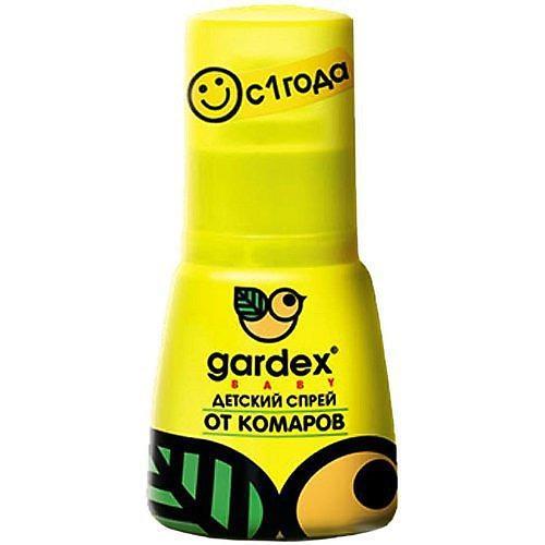 купить Детский спрей от комаров 50 мл (Gardex, Baby) дешево