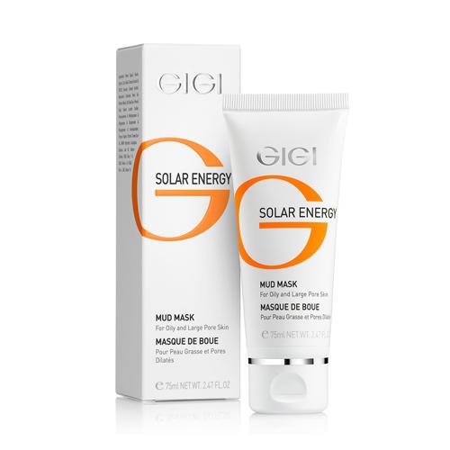 Маска грязевая 75 мл (GIGI, Solar Energy) gigi маска грязевая gigi solar energy mud mask for oil skin 21030 75 мл