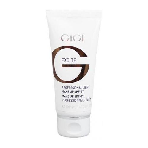 GIGI лёгкая тональная основа spf 17 make up collection 100 мл gigi