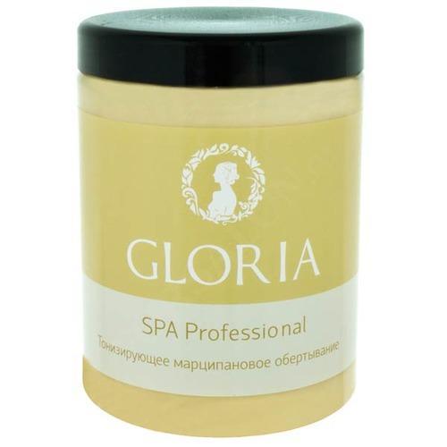 Обертывание тонизирующее марципановое, 1000 мл (Gloria, Профессиональная косметика для SPA) уходовая косметика при куперозе