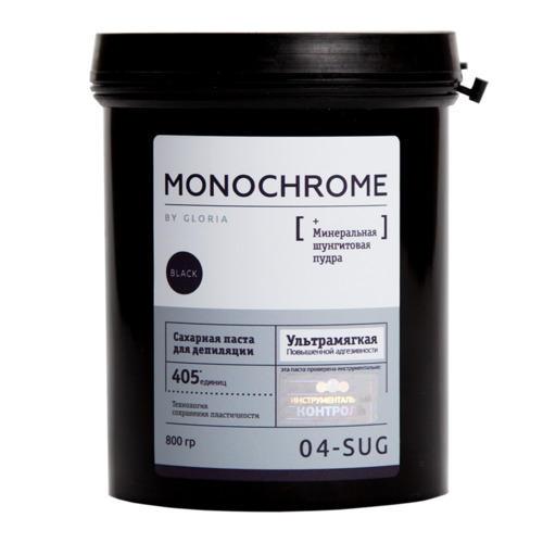 Gloria Сахарная паста для депиляции Ультра-мягкая, 0,8 кг (Gloria, Monochrome)