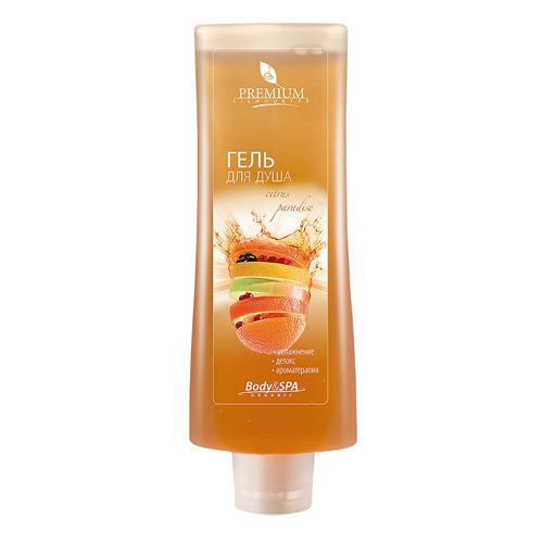 Premium Гель для душа Citrus paradise, 200 мл (Silhouette)