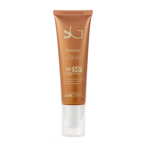 Premium Крем фотоблок Оily Skin SPF 50, 50 мл (Premium, Sunguard)