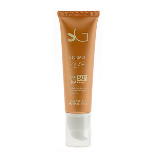 Крем фотоблок Dry Skin SPF 50, 50 мл (Sunguard)