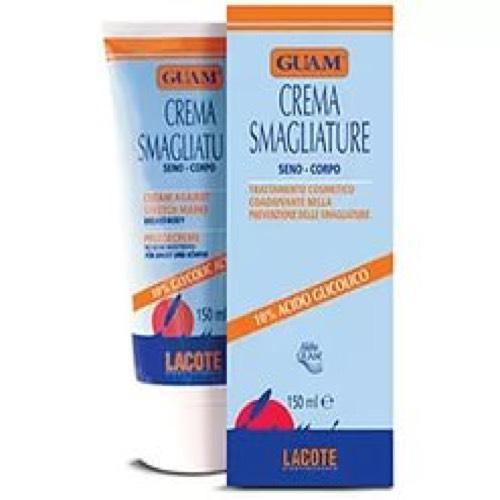 Крем против растяжек для тела и груди с гликолевой кислотой 150 мл (Guam, Crema) крем от растяжек время