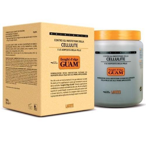 Fanghi dAlga Маска антицеллюлитная для увядающей кожи 1000 г (Guam, dAlga)