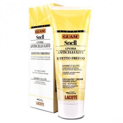Крем антицеллюлитный с охлаждающим эффектом для массажа 250 мл (Guam, Snell)