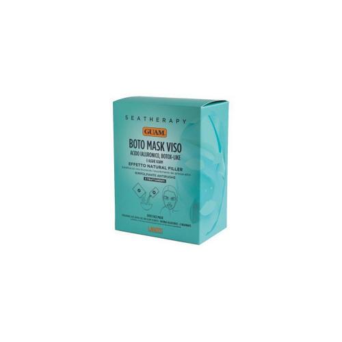 Купить Guam Маска для лица Ботокс эффект с гиалуроновой кислотой и водорослями, 3 шт (Guam, Seatherapy), Италия