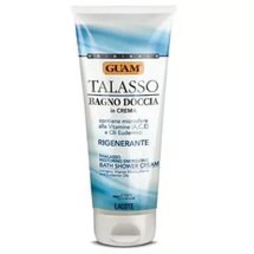 Кремгель для душа с витаминами 200 мл (Guam, Talasso) для ванны guam гель для душа bagniodoccia talasso объем 200 мл