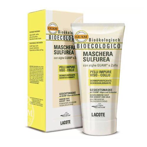 Bioecologico Маска очищающая для проблемной кожи 100 мл (Guam, Microcellulaire) цена