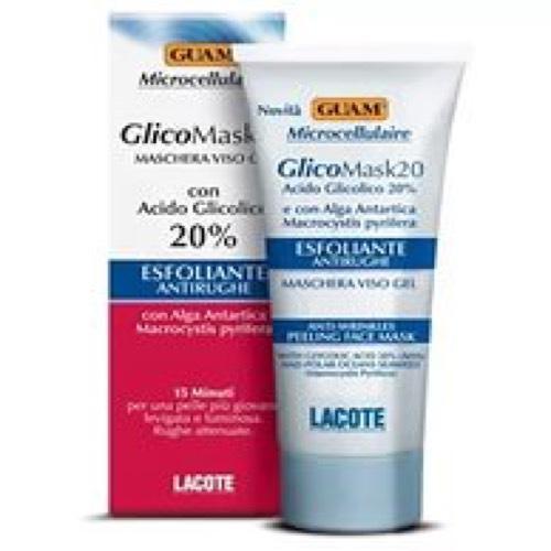 Маска подтягивающая для лица с гликолевой кислотой 75 мл (Guam, Microcellulaire) guam microcellulaire очищающая маска