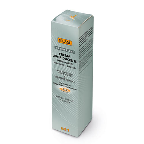 Купить Guam Крем антицеллюлитный c жиросжигающим эффектом с микрокристаллами Турмалина, 200 мл (Guam, Tourmaline), Италия