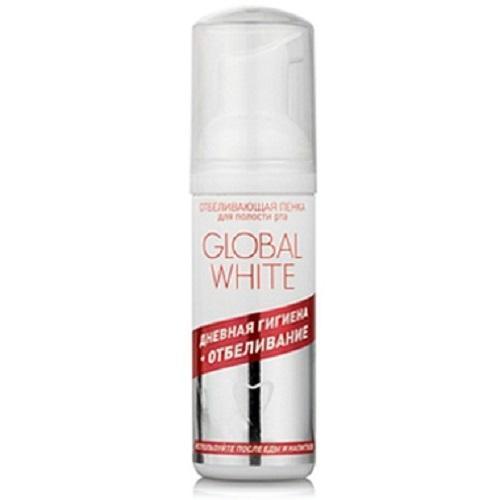 Global white Отбеливающая пенка для полости рта 50 мл (Отбеливающие системы)