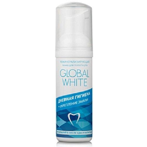 Global white Реминерализирующая пенка для полости рта  50 мл (Спреи и пенки)