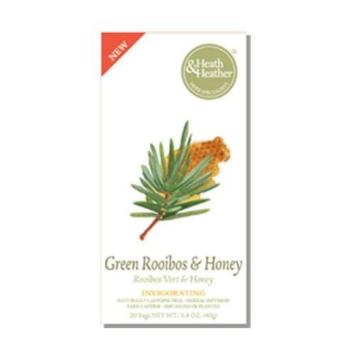 "Heath&Heather Травяной напиток ""Зеленый Ройбос и Мед"", 20 пакетиков (Wellbeing)"
