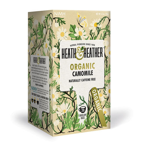 HeathHeather Напиток травяной Ромашка Органик 20 пак. в инд.упак. (Organics)