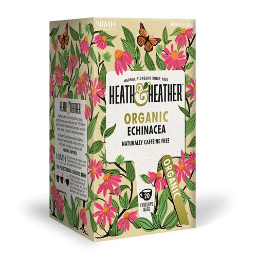 Напиток травяной Эхинацея  Органик  20 пак. (Organics) от Pharmacosmetica