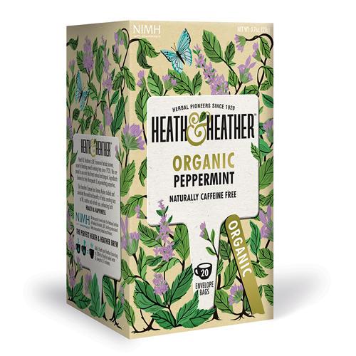 Напиток травяной Мята перечная Органик 20 пак. (HeathHeather, Organics)