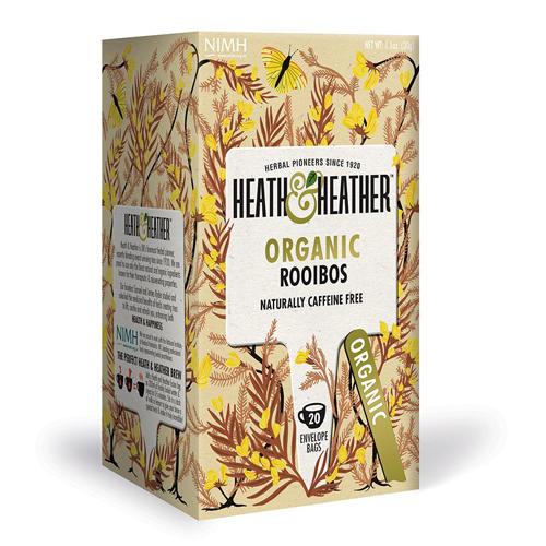 HeathHeather Напиток травяной Ройбуш Органик   20 пак. в ин. упак. (Antioxidance)