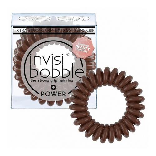 Купить Invisibobble Резинка-браслет для волос Pretzel Brown коричневый (Invisibobble, Power), Великобритания