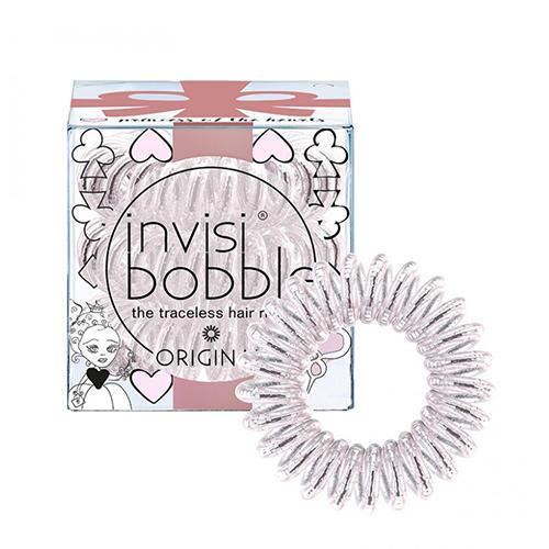 Купить со скидкой Invisibobble Резинка-браслет для волос Princess of the Hearts искристый розовый (Invisibobble, Origi