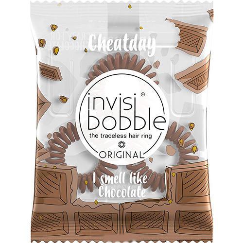 Ароматизированная резинкабраслет для волос Cheat Day Crazy For Chocolate шоколадный (Invisibobble, Original) invisibobble резинка для волос ароматизированная original cheat day macaron mayhem лиловый 3 шт