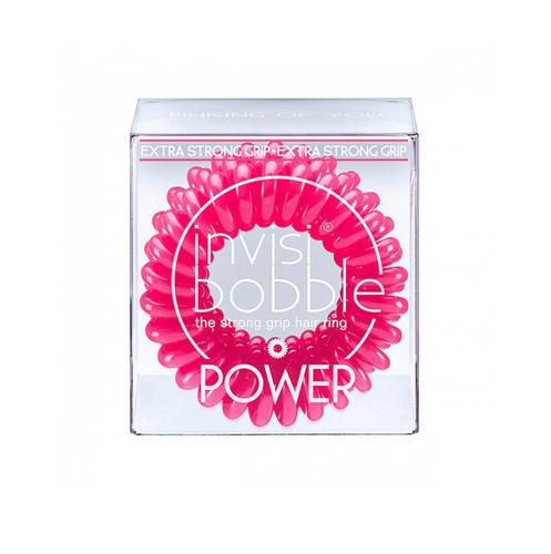 Фото - Резинкабраслет для волос Pinking of you (с подвесом) розовый 3 шт. (Invisibobble, Power) резинкабраслет для волос pinking of you с подвесом розовый 3 шт invisibobble original