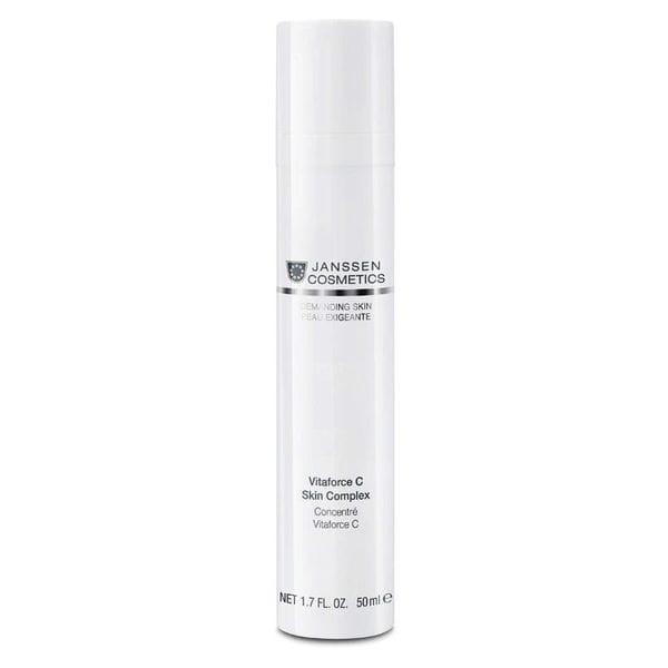 Регенерирующий концентрат с витамином С 50 мл (Janssen, Demanding skin) регенерирующий концентрат с витамином с