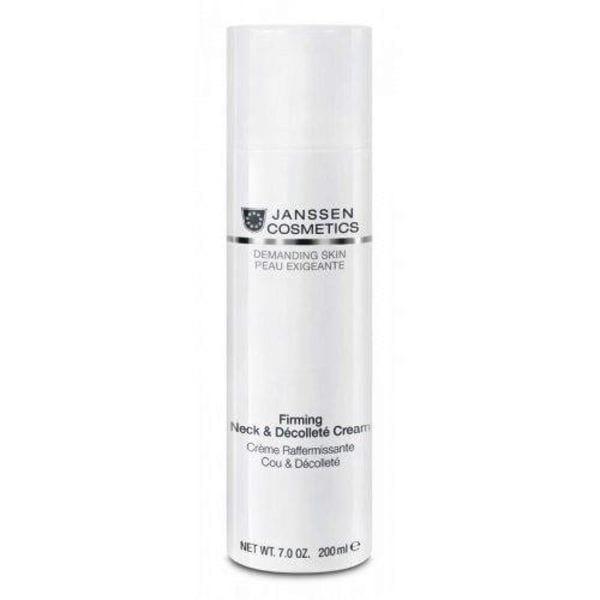 Укрепляяющий крем для кожи лица, шеи и декольте 150 мл (Janssen, Demanding skin) крем herbolive для лица шеи и зоны декольте 50 мл