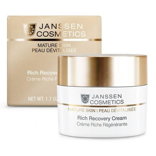 Rich Recovery CreamОбогащенный antiage регенерирующий крем с комплексом Cellular Regeneration 200 м (Janssen, Mature Skin)