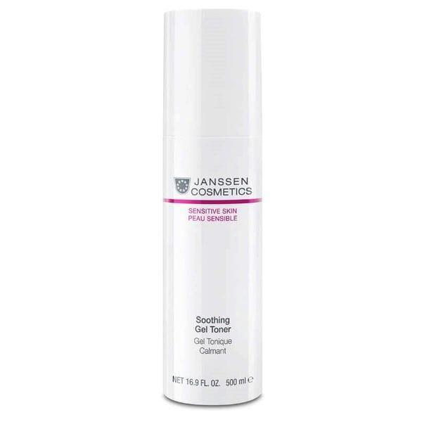 Успокаивающий тоник для чувствительной кожи 500 мл (Janssen, Sensitive skin) подарочный набор нежное прикосновение в розовой фирменной косметичке janssen sensitive skin