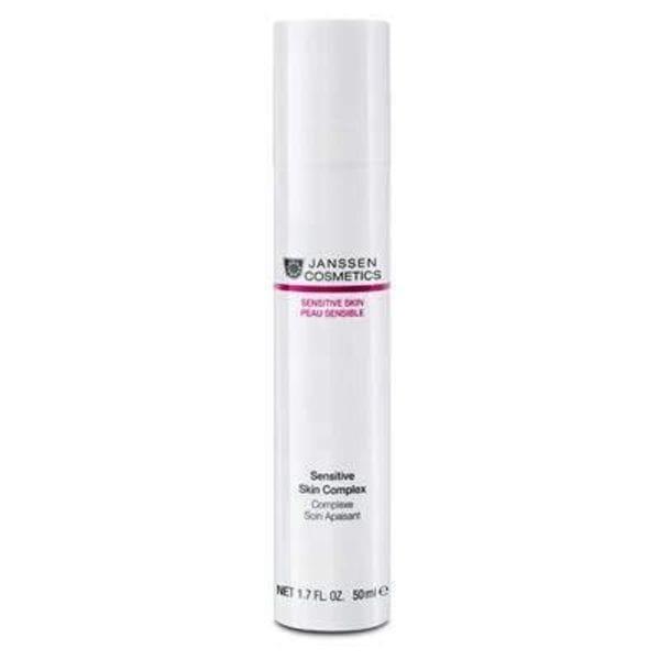 Восстанавливающий концентрат для чувствительной кожи 50 мл (Janssen, Sensitive skin) подарочный набор нежное прикосновение в розовой фирменной косметичке janssen sensitive skin
