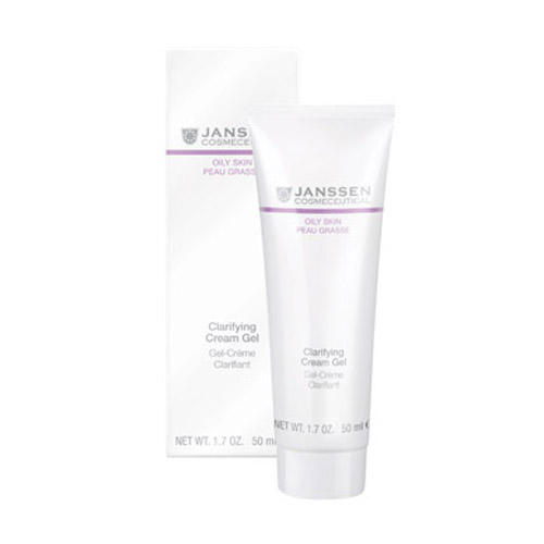 Себорегулирующий крем-гель 50 мл (Oily skin) (Janssen)