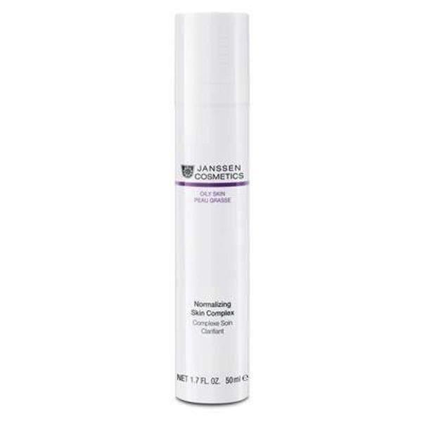 Нормализующий концентрат для ухода за жирной кожей 50 мл (Janssen, Oily skin) все цены