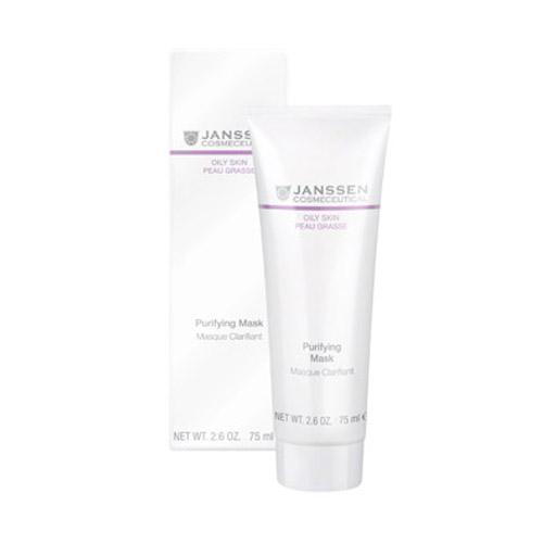 Себорегулирующая очищающая маска 75 мл (Oily skin) (Janssen)