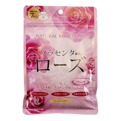 Japan Gals Курс натуральных масок для лица с экстрактом розы 30 шт ()