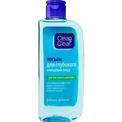 Купить Clean&Clear Лосьон для глубокого очищения лица для чувствительной кожи 200 мл (Clean&Clear, Для лица), США