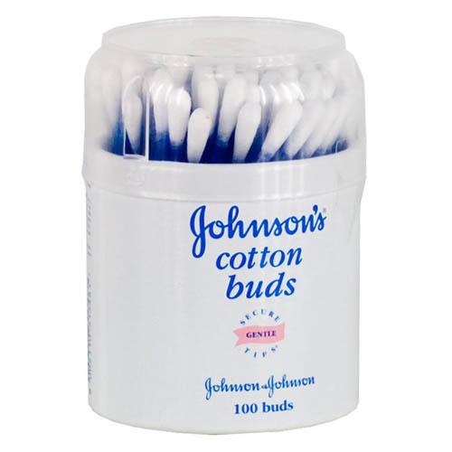 Johnsons baby Ватные палочки 100 шт (Для новорожденных)