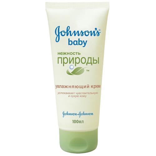 Увлажняющий крем Нежность природы 100мл (Johnsons baby, Для тела) крем johnson s baby нежность природы увлажняющий 100 мл