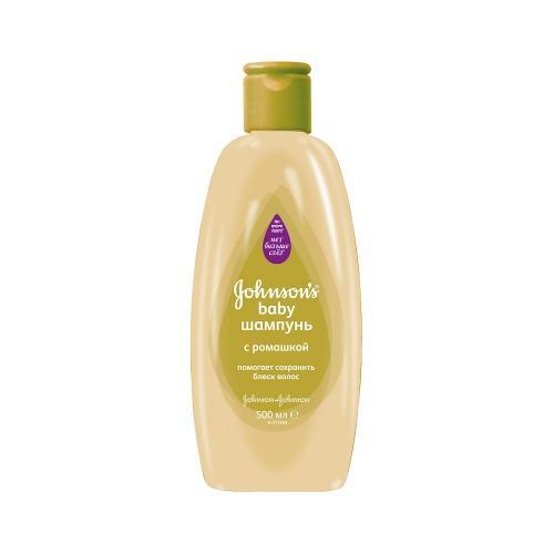 Шампунь с ромашкой 500мл (Johnsons baby, Для волос) шампунь без мыла