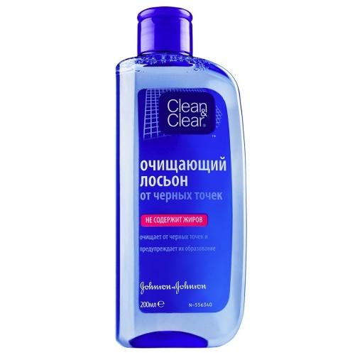 Купить Clean&Clear Очищающий лосьон от черных точек 200 мл (Clean&Clear, Для лица), США