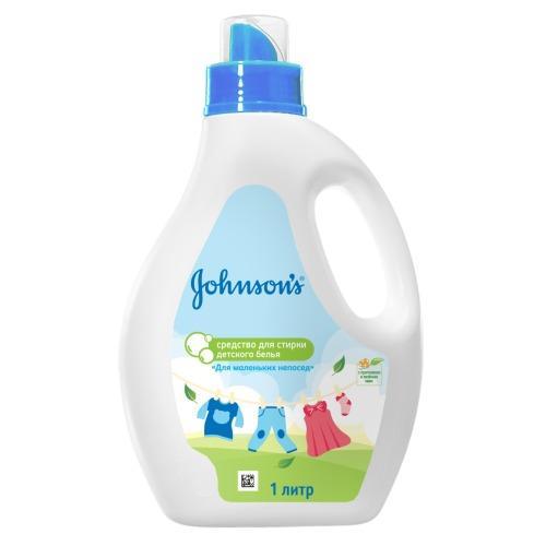 Фото #1: Johnson's baby Средство для стирки детского белья Для маленьких непосед 1 л (Johnson's baby, Для сти