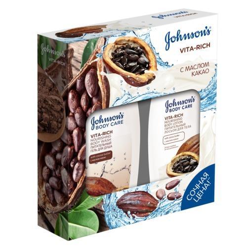 Гель для душа с маслом Какао Питательный 250 млЛосьон для тела с маслом Какао Питательный 250 мл (Johnsons baby, Care VITARICH)