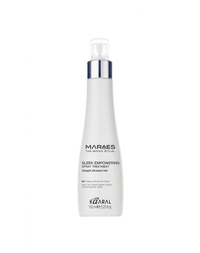 Восстанавливающий несмываемый спрей для прямых поврежденных волос 150 мл (Kaaral, Maraes) kaaral восстанавливающий несмываемый спрей для прямых поврежденных волос maraes sleek empowering spray treatment 150 мл