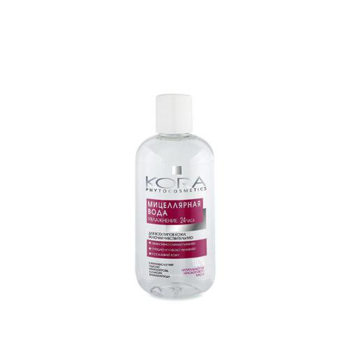 Купить КОРА Мицеллярная вода для всех типов кожи, включая чувствительную 300 мл (КОРА, Очищение), Россия