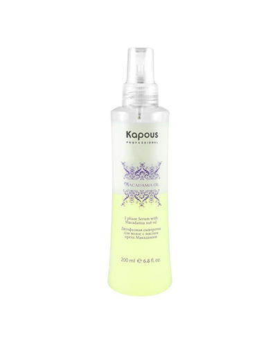 Купить Kapous Professional Сыворотка с маслом ореха макадамии, 200 мл (Kapous Professional, Fragrance free), Италия